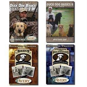 Avery Duck Dog Basics DVD (Retriever Training Dvd)
