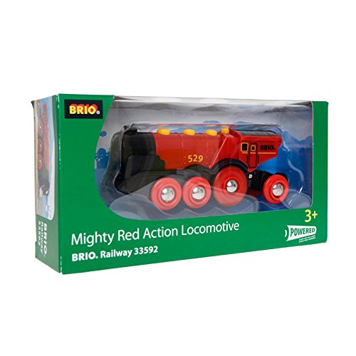 Train Engine Sounds (BRIO Mighty Action Locomotive, Red)
