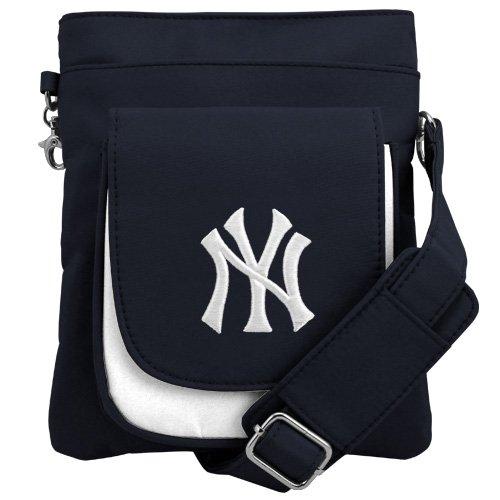 (MLB New York Yankees Crossbody Purse-Handbag-Travel)