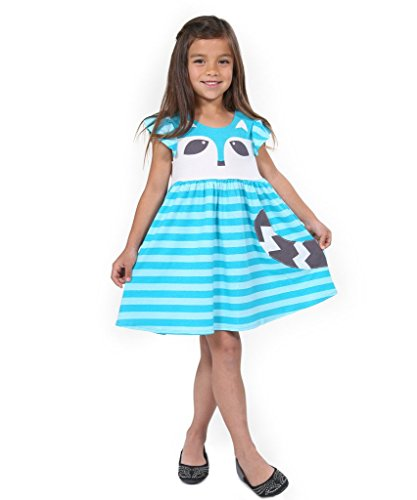Jelly The Pug Woodland Friends Racoon Dress-6