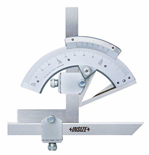 Insize 2374–320–Transportador de ángulos, 0degree-320grado, graduación 2' 0degree-320grado graduación 2' INSIZE CO. LTD 2374-320