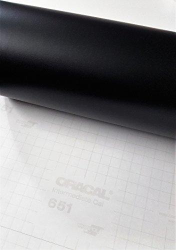 Roll of Oracal 651 Matte Black Vinyl for Craft Cutters and Vinyl Sign Cutters - Matte Black