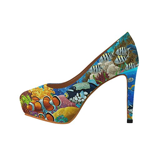 D-Story Fashion Womens Sexy Stiletto High Heel Pumps Shoes Multicolored13 iWaqcBYniR