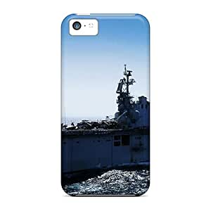 Hardcase88 Apple Iphone 5c High Quality Hard Phone Case Custom HD Uss Peleliu Series [tYa44fgYE]