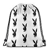Drawstring Bag Play Boy Bunny Tapestry Gift Bag