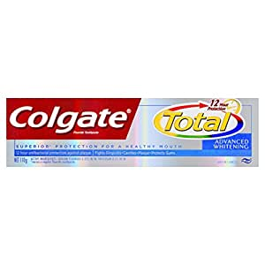 Colgate Total Advanced Whitening Fluoride Toothpaste 12H antibacterial protection 110g
