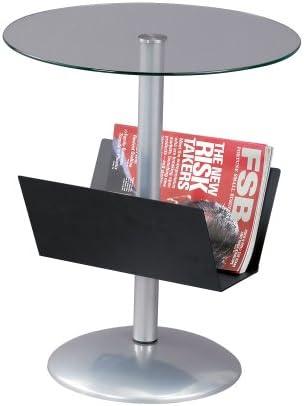 Adesso Sutton Magazine Table, Black