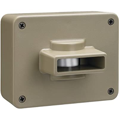 CWPIR Weatherproof Outdoor/Driveway Wireless Motion Alarm and Alert System Add-On Sensor, Includes 1 Sensor