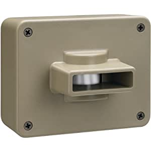 Chamberlain CWPIR detector de movimiento - Sensor de movimiento (Inalámbrico, Sensor infrarrojo pasivo (PIR), AA, Gris)