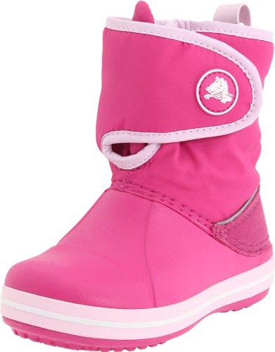 Crocs Crocband Gust, Unisex - Kinder Stiefel Pink/Fuchsia/Bubblegum