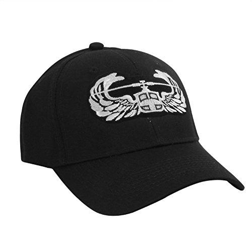 Assault Cap (Air Assault Wings Logo Patch Official Black baseball Cap Baseball-hat)