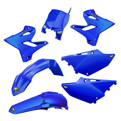 Cycra 15-19 Yamaha YZ250 Powerflow Plastic Kit (Blue)