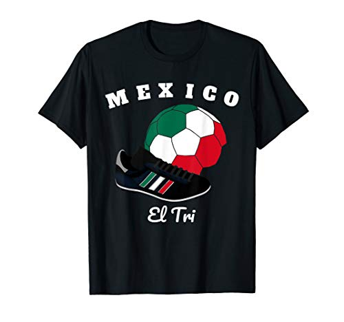 Soccer Mexico T-Shirt Football Mexican Flag Team Jersey