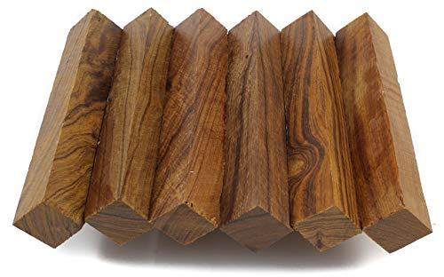 Iron Desert - Wood Pen Blanks 5-Pack: Ironwood