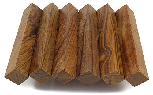 Wood Pen Blanks 5-Pack: Ironwood