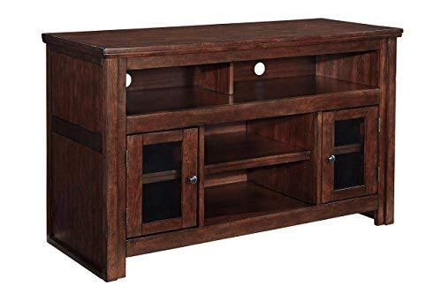 Ashley Furniture Signature Design - Harpan TV Stand - 50 in - Traditional Style - Brown