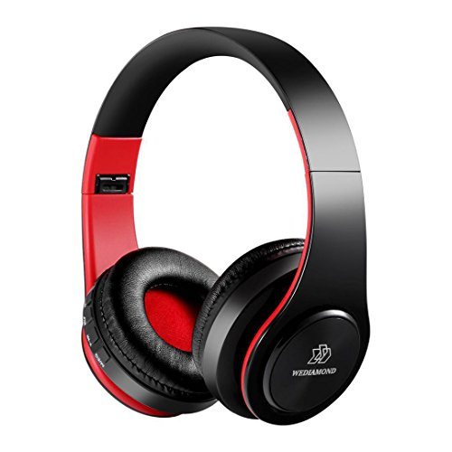 Wireless Headphones, Wediamond E1 Bluetooth Headset Stereo Foldable Sport Earphone Microphone headset Handfree MP3 player - City Mall Music Hours