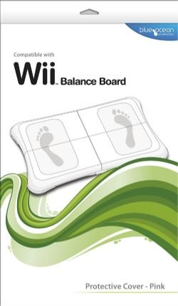 Pink Blue Ocean Accessories Wii Board Protective Cover