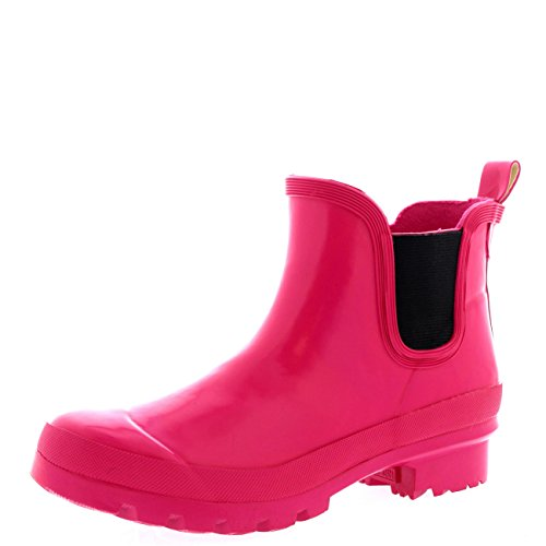 Rain Snow Fushia Original POLAR Wellington Womens Boots Dark Chelsea Waterproof Gloss Winter RWSqB