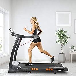 JLL S400 Folding Treadmill, 2019 New Generation Digital Cont...