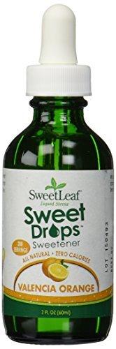 Wisdom Naturals Sweetleaf Liquid Stevia, Valencia Orange - 2 (2 Ounce Wisdom Natural)
