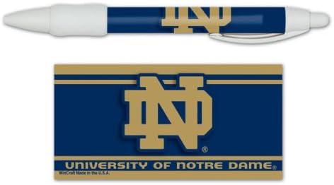 WinCraft NCAA Notre Dame Pen Display Black
