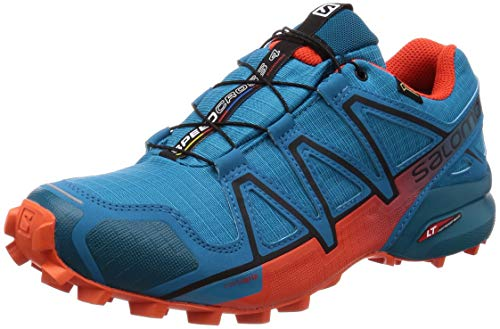 Tomato 4 Blue Speedcross Salomon Cherry Blue Black Fjord GTX 5vYwwZ8x