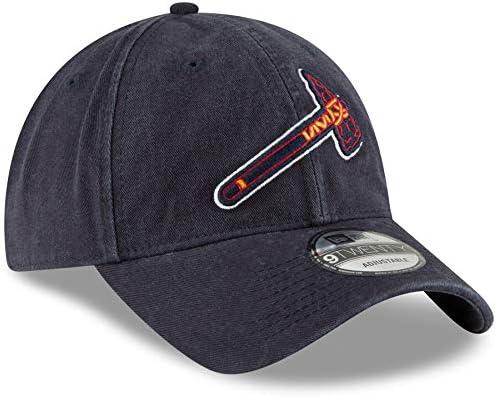 New Era Atlanta Braves Marine Core Classic Secondary 9TWENTY Bonnet r/églable