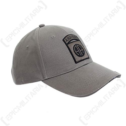 Fosco US Grey 82nd Airborne Baseball Cap