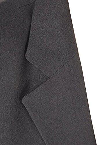 Eleganter Business-Blazer für Damen der Marke Sciarra in Braun gefüttert, Gr. 46