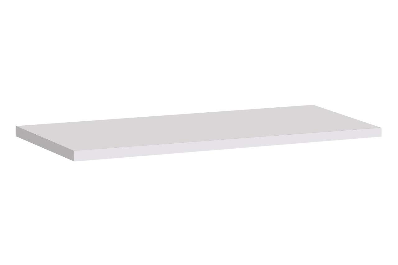 muebles bonitos - Estante Modelo Berit 60 en Color Blanco ...