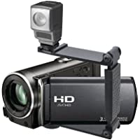 LED High Power Video Light (Super Bright) For Sony Handycam DCR-DVD205 (Includes Mounting Brackets)