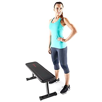 Marcy Flat Utility Weight Bench For Weight Training & Abs Exercises Sb-315 5