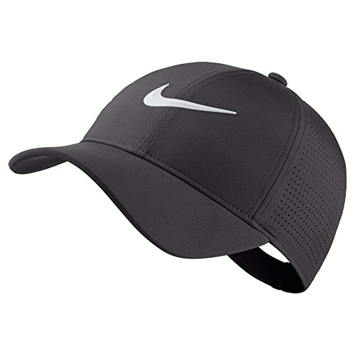 NIKE AeroBill Legacy 91 Performance Golf Cap 2018 Women Gunsmoke/Anthracite/White One Size Fits All