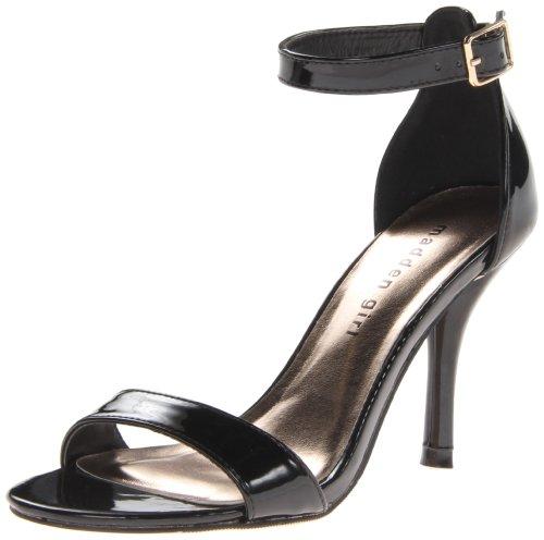 Madden Girl Womens Darrlin Dress SandalBlack Patent7 M US