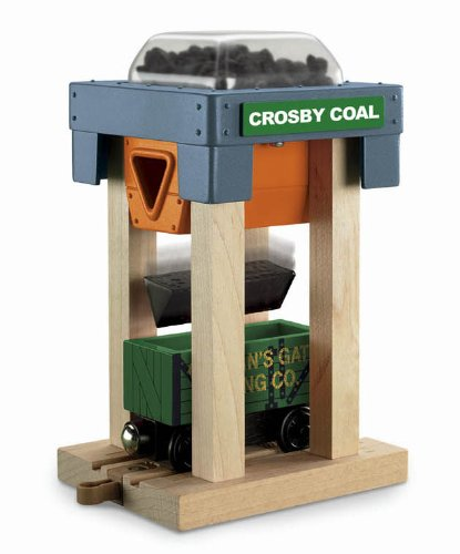 Fisher-Price Thomas & Friends Wooden Railway, Coal Hopper 8 Set