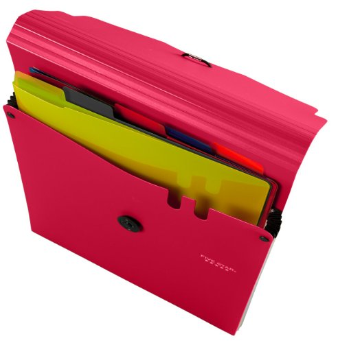 Five Star 5-Pkt Expanding File with Removable Pockets