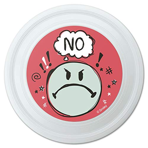GRAPHICS & MORE No Mad Angry Smiley Face Officially Licensed Novelty 9