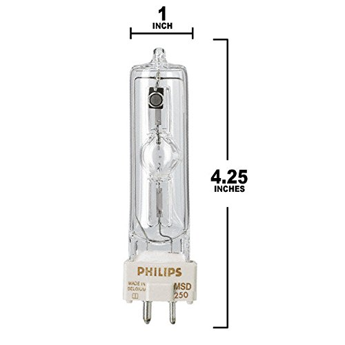 PHILIPS MSD 250/2 8500K metal halide MSD250/2 bulb