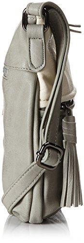 Betty Barclay Damen Bb-1153-Fa Umhängetasche, Grau (Grey), 6x24x26 cm