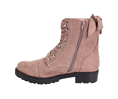 By Shoes Women's Fashion Boots Pink 5M5mtBt