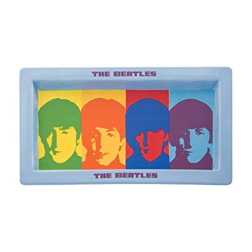 Vandor 72039 The Beatles Color Bar Ceramic Serving Platter, 16 Inch ()
