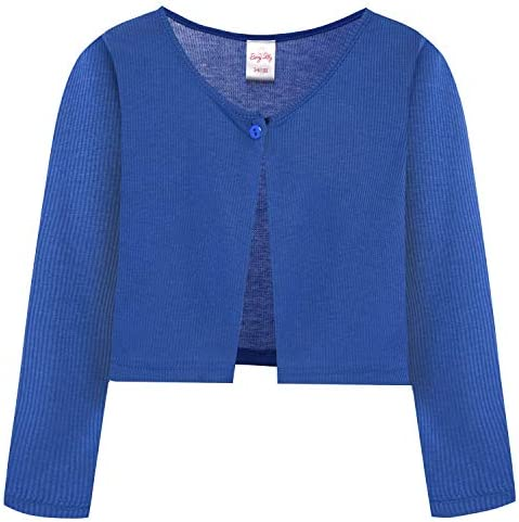BONNY BILLY M/ädchen Strickjacke Bolero Jacke Baumwolle Kinder Kleidung