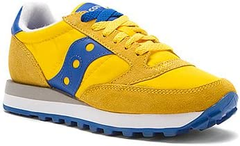 saucony jazz blue yellow
