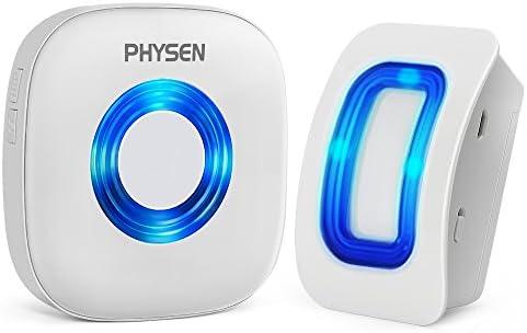 150M Range 38 Melodies Twin Wireless Plug Door Bell Digital Cordless Chime RLTS