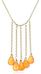 Nugaard 5 Briolette Dangles Necklace