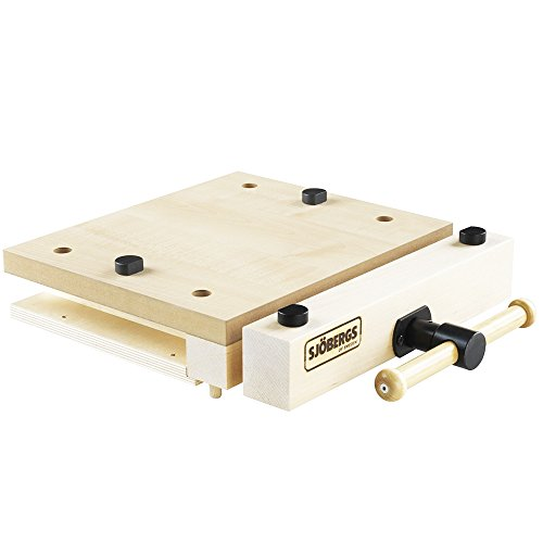 (Sjobergs SJO-33274 Woodworking Portable Smart Vice with Superior Clamping Power Wherever You Need It)