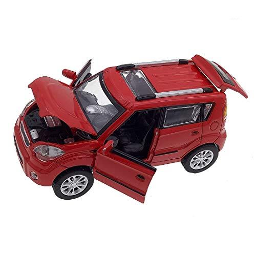 - KMT Alloy Diecast Car Models KIA Soul Model Cars (Red)