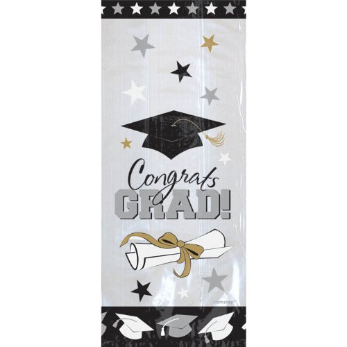 Graduation Cello Bags | Party Favor | Pack of -