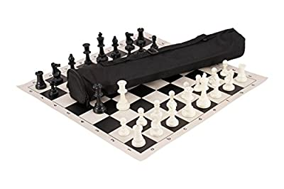 Quiver Chess Set Combination - Single Weighted - by US Chess Federation
